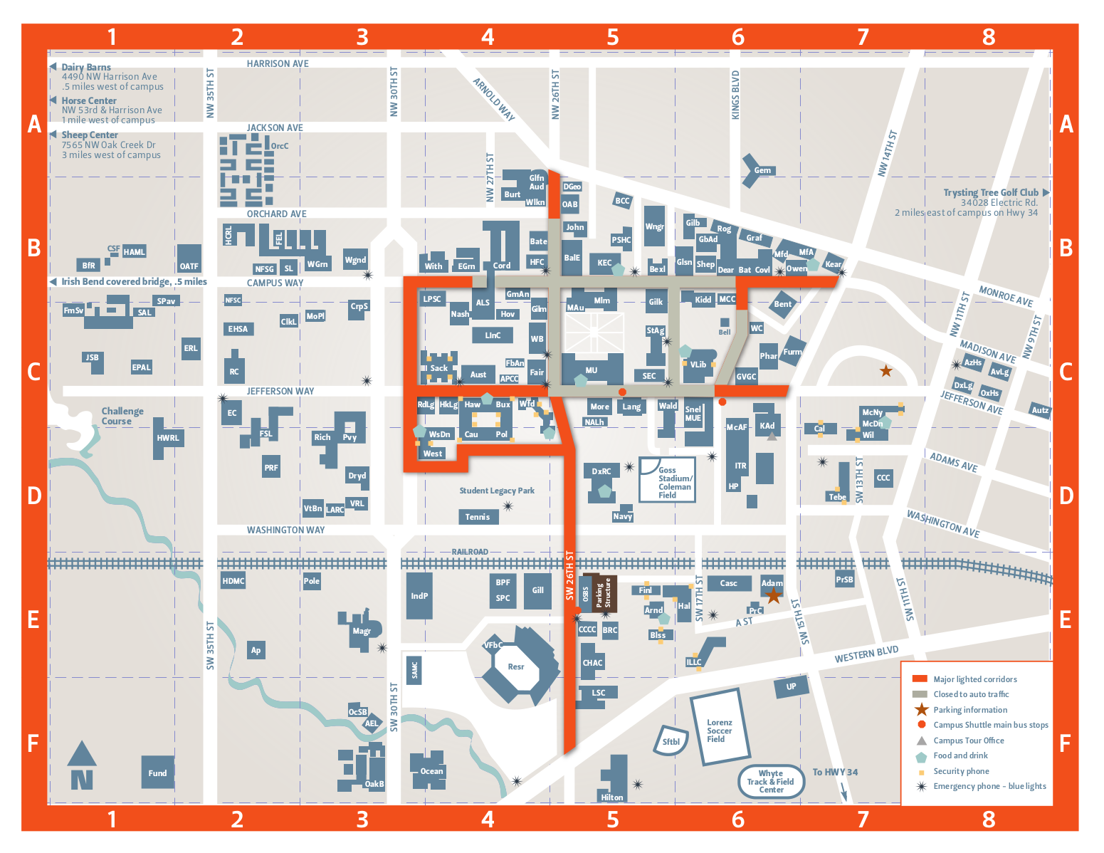 Beautiful Oregon State University Campus Map Ideas - Printable Map ...